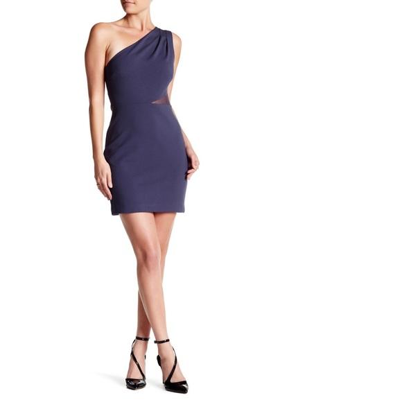 3ceb2836ccab Halston Heritage Dresses | One Shoulder Mini Dress | Poshmark