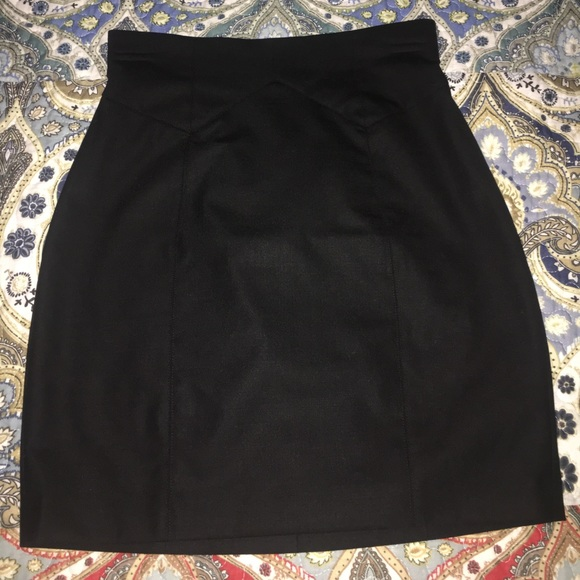 Maricano Guess Black Pencil Work Skirt by Marciano