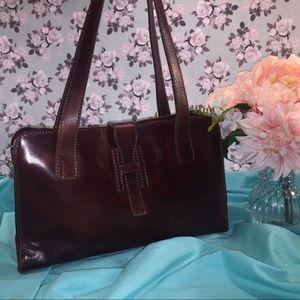 I MEDICI FIRENZE Authentic Leather Shoulder Bag