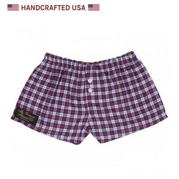 9b6a687a1542e Vermont Flannel Dorm Shorts
