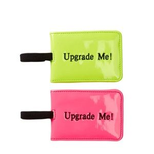 "Bags - 5 for $25 -- ""Upgrade Me!"" Luggage Tags (Set of 2)"