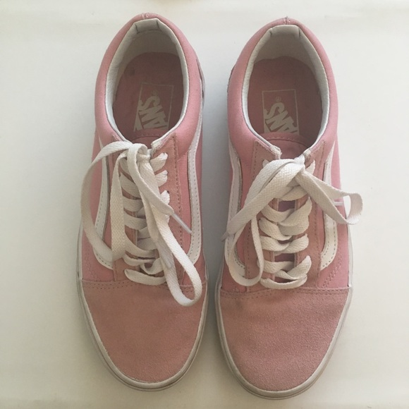 f4d0881609 Vans Pink Blush Suede Old Skool Sneakers. M 597bbc26291a35f1c60407e5. Other  Shoes ...