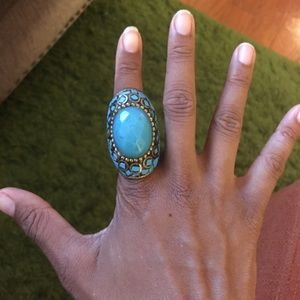 Jewelry - Turquoise statement ring