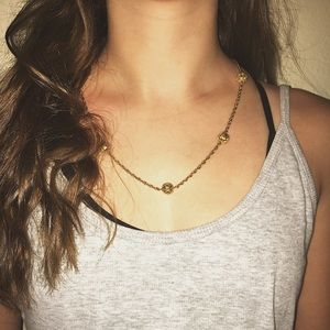 Jewelry - Golden Ornate Necklace