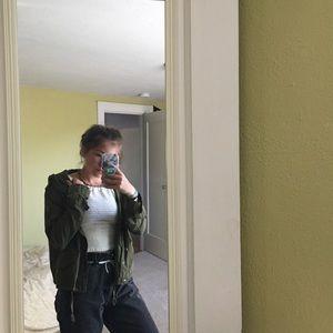Brandy Melville olive jacket