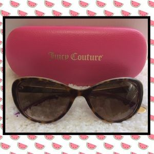 Juicy Couture cat eye sun glasses