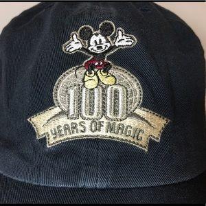 "NWT Walt Disney ""100 Years of Magic"" Baseball Cap"