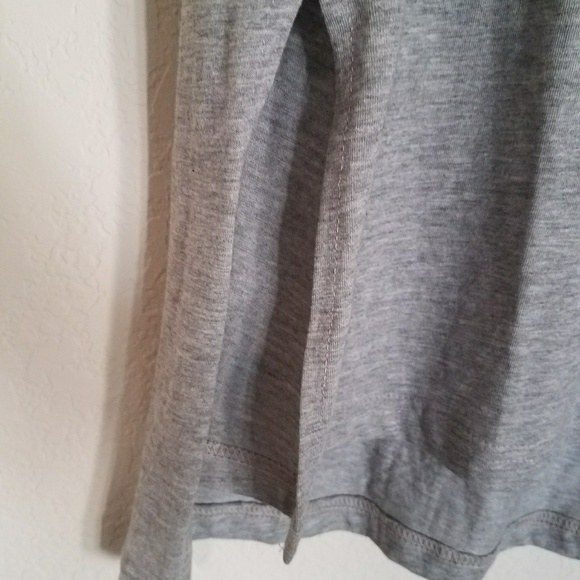 Forever 21 Shirts - Heather Grey Extra Long Cut Tank Top Mens XS Small