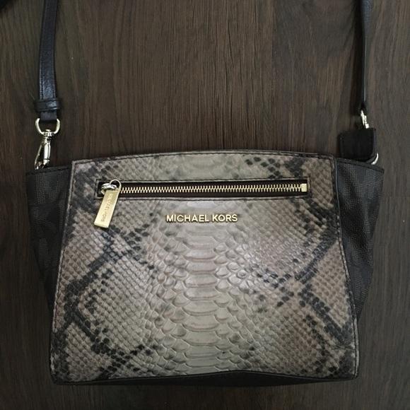 9c26c64482c5 Michael Kors Bags | Medium Sophie Python Messenger | Poshmark