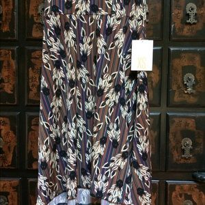 Coolest 🦄 Lularoe 🔥 Zebra 🦓 Azure circle skirt!