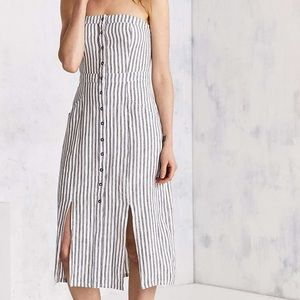 Urban Outfitters Striped Midi Dress *NEW*