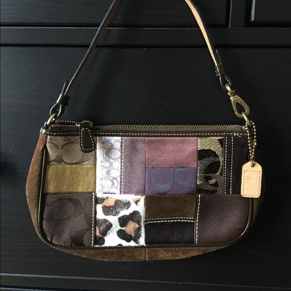 Coach Handbags - ⭐️Labor Day Sale!⭐️Coach Mini Patchwork Purse 875a667675cef