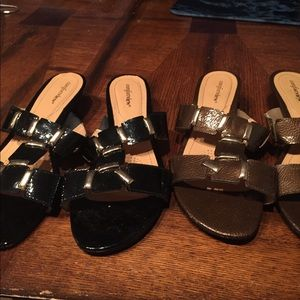 Shoes - 2 pairs of sandals ONE PRICE