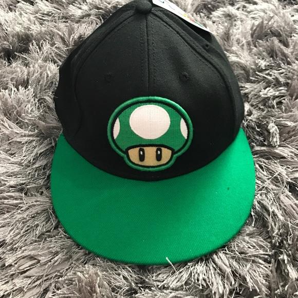 🔥New🔥 Adult Super Mario Mushroom Flex Hat 6c62e5412f53