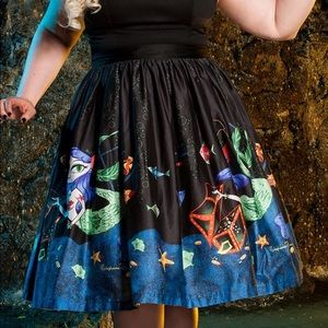 009898d49b82c Pinup Couture Skirts   Mermaid Mexican Circle Skirt   Poshmark