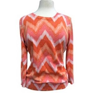 C. Wonder Long Sleeve 100% Cotton chevron Sweater