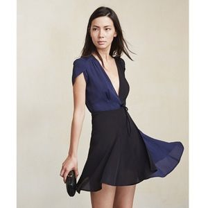 Reformation Cora Wrap Dress