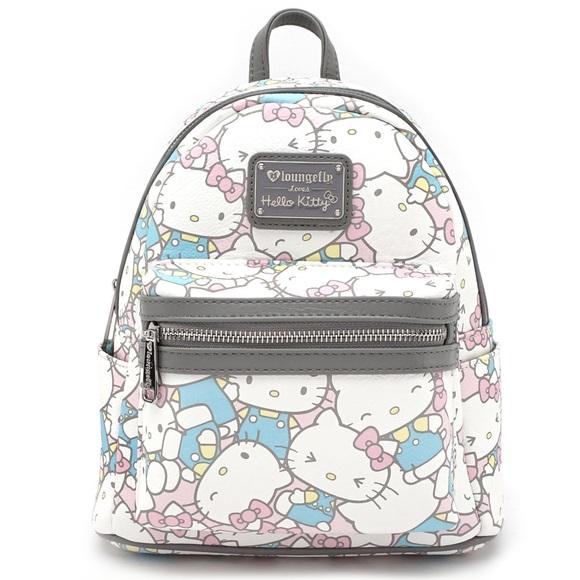 Hello Kitty Bags   Pastel Mini Backpack   Poshmark dd7cd1f40c
