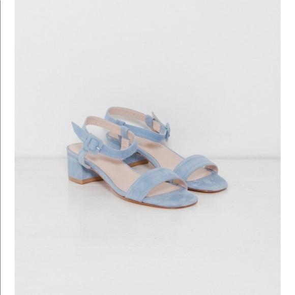 Maryam Nassir Zadeh Shoes   Mnz Blue