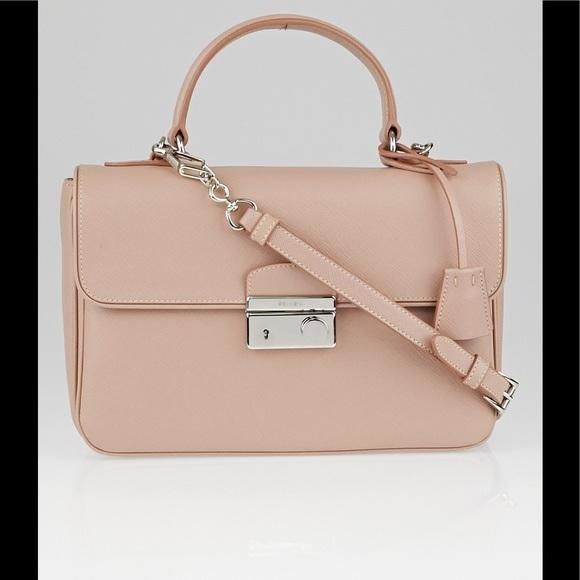 1f0be29716c4 Prada Bags | Saffiano Sound Flap Bag | Poshmark