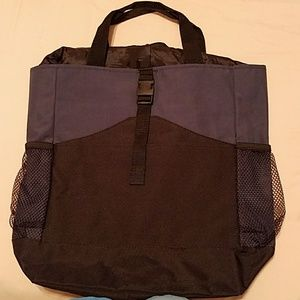 Convertible Canvas Tote/Backpack