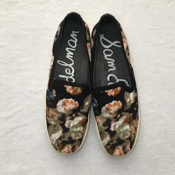 33354cec8af665 Sam Edelman  Becker  Floral Slip On Sneakers. M 597bf0a2b4188e992304d532