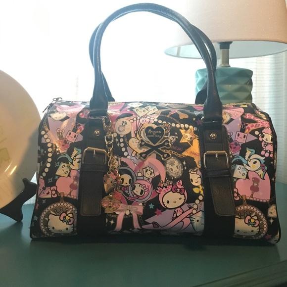 ae7a341409e8 Tokidoki Sanrio for Hello Kitty Diamond Satchel.  M 597bf2bfa88e7dcb15051d64. Other Bags ...