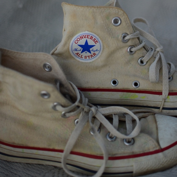 3ec8c7ab9c09 Converse Other - White High Top Converse Chuck Taylor All Stars
