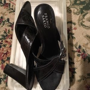 Franco Sarto L-Concours High heel mule Charcoal
