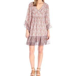 95dfc43a9b5 Betsey Johnson Dresses - Betsey Johnson Bambi Boho Dress Kimono Bell Sleeve