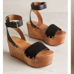 KDB wooden wedges from Anthropologie