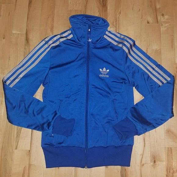 e08fff9e7fca adidas Sweaters - Adidas Royal Blue Sport Jacket   Sweater