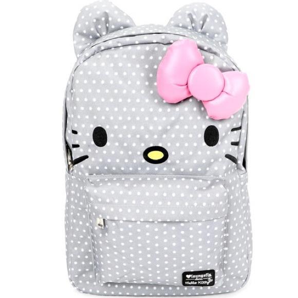 3f7bc845b4 Hello Kitty Dots Backpack