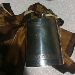 Accessories - Beautiful Pewter Flask