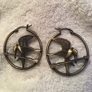 Jewelry - Hunger Games earrings 3 for $10