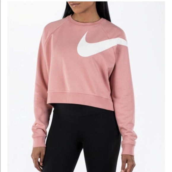 96% off Nike Sweaters - Nike cropped sweater from Marlena's closet ...