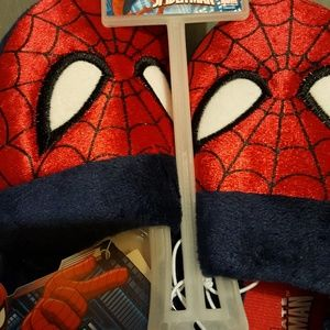 Other - Spider man size 9-10 slippers.
