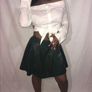 72d67410be1 Vegan leather skirt!!! Super cute