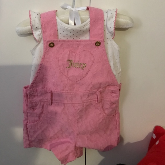 921b2e038 Juicy Couture Matching Sets   6 Deals Baby Pink Jumper Set   Poshmark