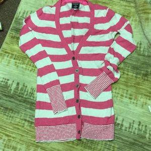 Victoria's Secret Pink Button Up Sweater