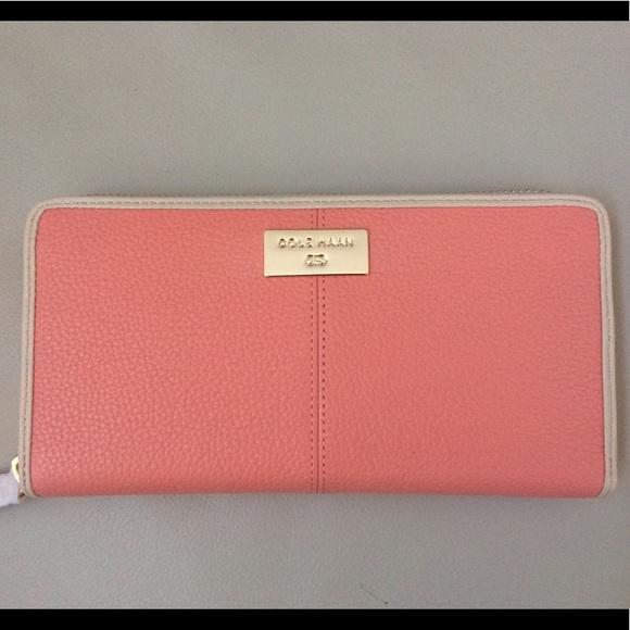f2ab8c11d7 Cole Haan Bags | Kierra Continental Zip Leather Wallet | Poshmark