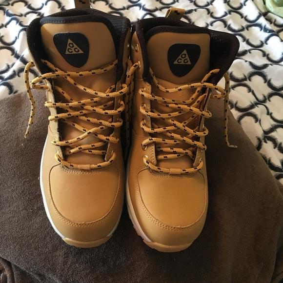 the best attitude 5c686 e14d1 Wheat Nike ACG Boots