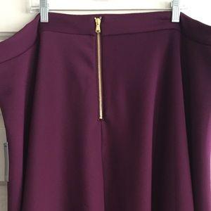 Eloquii Skirts - MIDI Scuba Skirt