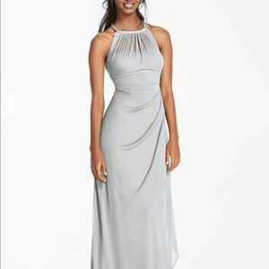 Davids Bridal Bridesmaids Dress - Mystic