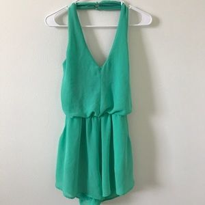 Dresses & Skirts - Aqua Green Romper