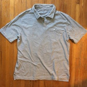 Steven Alan cotton knit polo