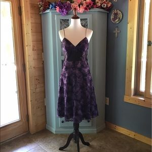 LAUDRY By SHELLI SEGAL  Dress w/TULLE. WOW!! NEW!