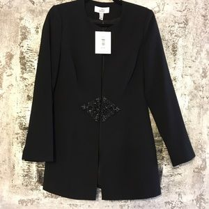 NWT {Badgley Mischka} Martina Blazer