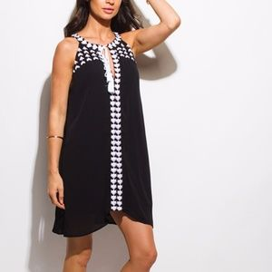 Dresses & Skirts - Embroidered Black dress