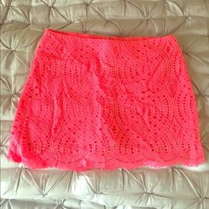 Lilly Pulitzer Lace Skort